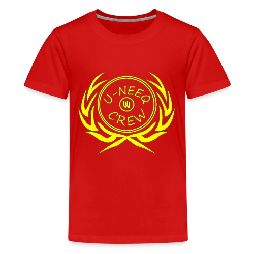 gold logo - Kids' Premium T-Shirt