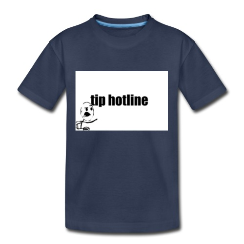 Tip hotline Phone Case - Kids' Premium T-Shirt