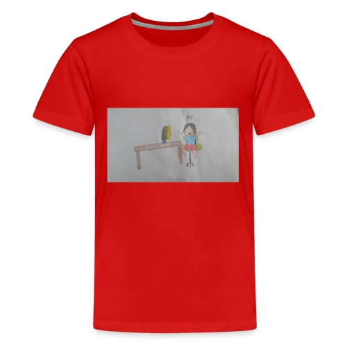 fan art test 1 - Kids' Premium T-Shirt