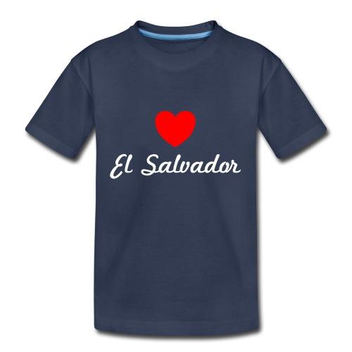 I Love Heart El Salvador Kids T-Shirt