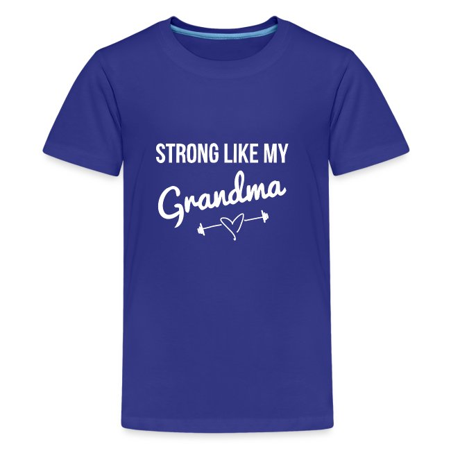 strong like grandma (white)