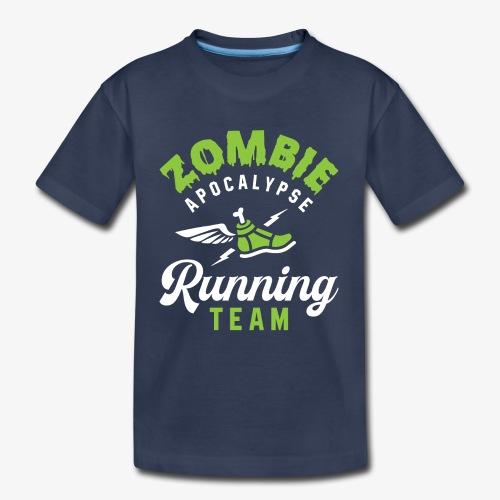 Zombie Apocalypse Running Team - Kids' Premium T-Shirt