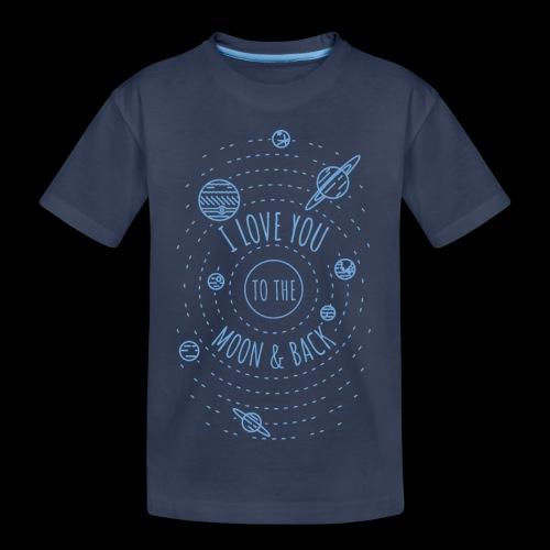 I Love You to the Moon & Back - Kids' Premium T-Shirt