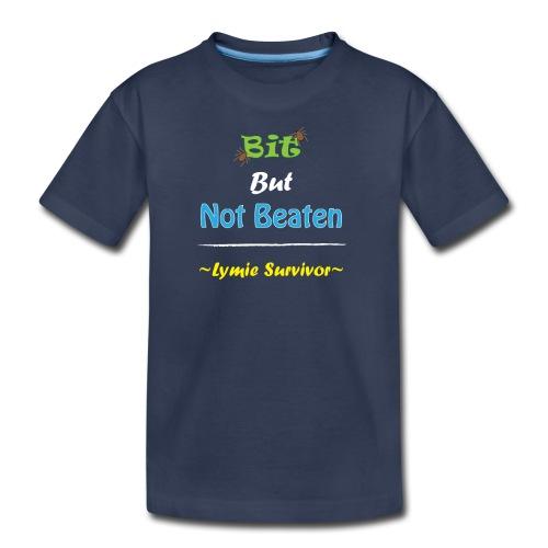 Bit But Not Beaten Lymie - Kids' Premium T-Shirt