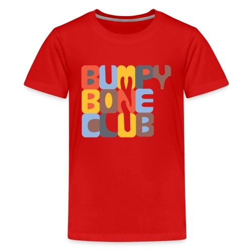 BumpyBoneLogo 1 png - Kids' Premium T-Shirt