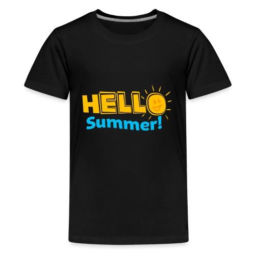 Kreative In Kinder Hello Summer! - Kids' Premium T-Shirt