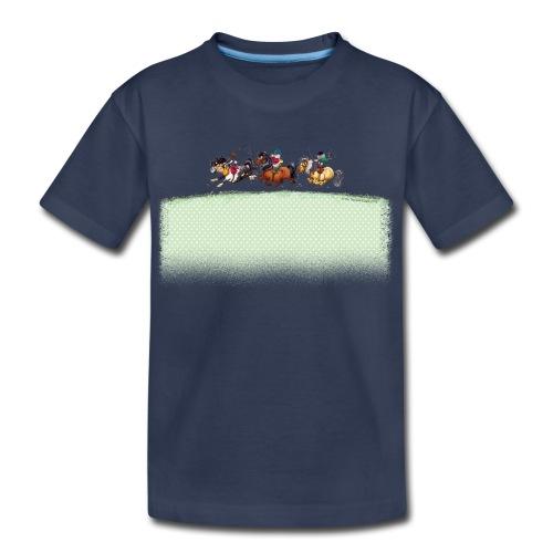 Three Jockeys Thelwell - Kids' Premium T-Shirt