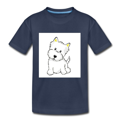cute pup - Kids' Premium T-Shirt