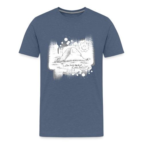 Listen to Hardrock - Kids' Premium T-Shirt