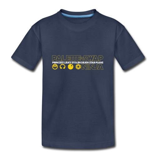 Princess Leia's Stolen Death Star Plans - Kids' Premium T-Shirt