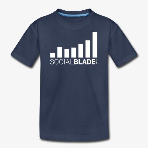 Social Blade - White - Kids' Premium T-Shirt