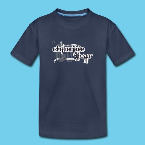 Chlorine Gear Textual B W - Kids' Premium T-Shirt