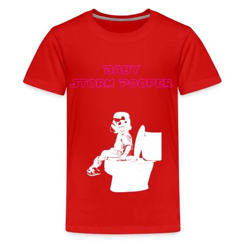 Baby Storm Pooper Purple - Kids' Premium T-Shirt