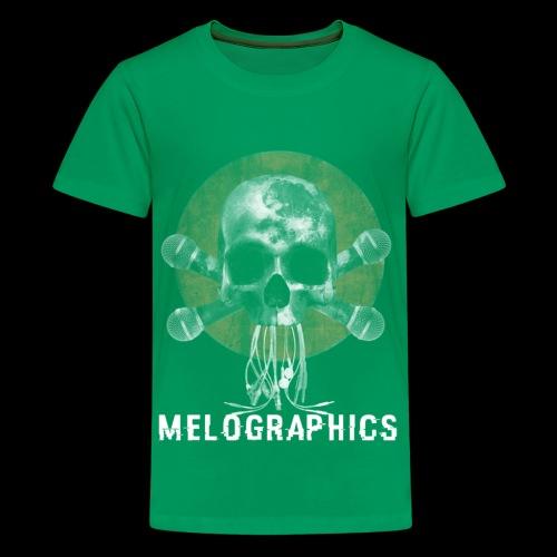 No Music Is Death - Kids' Premium T-Shirt