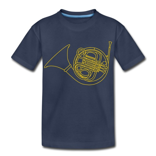 French horn brass - Kids' Premium T-Shirt