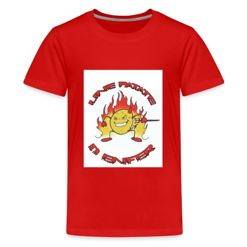 Une patate d' Enfer - Kids' Premium T-Shirt
