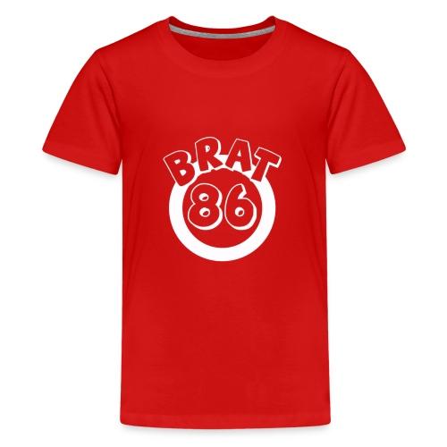 White Design For Black - Kids' Premium T-Shirt