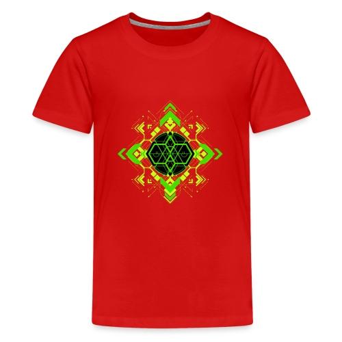 Design2_green - Kids' Premium T-Shirt