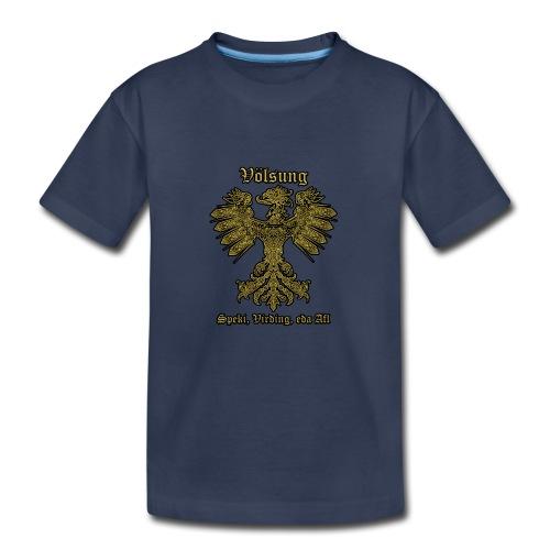 Völsung Eagle cases - Kids' Premium T-Shirt