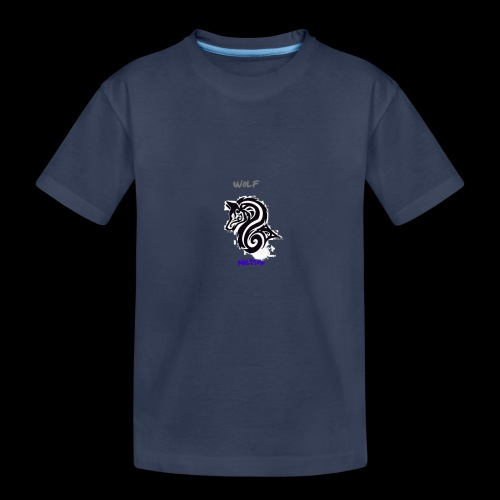 wolfnation-logo-large - Kids' Premium T-Shirt