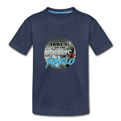 Takeit tothe streets cirlce logo - Kids' Premium T-Shirt