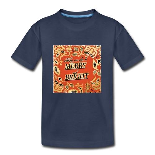 MERRY AND BRIGHT CHRISTMAS - Kids' Premium T-Shirt