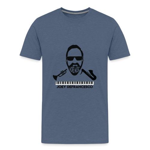 More Music Joey D front image - Kids' Premium T-Shirt