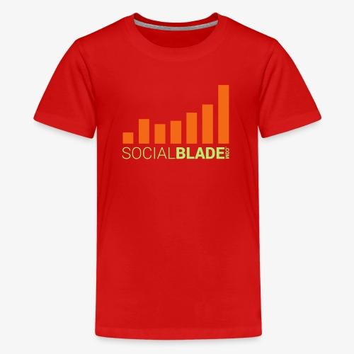 Social Blade - Dark - Kids' Premium T-Shirt