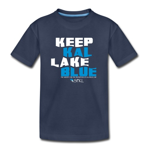 Keep Kal Lake Blue, Navy Women's Hoodie - Kids' Premium T-Shirt