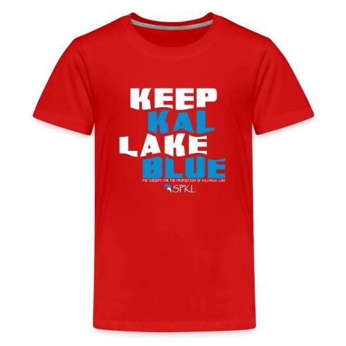 Keep Kal Lake Blue, Navy Women's Hoodie - Kids' Premium T-Shirt
