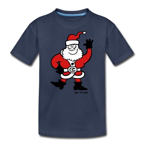 Santa Claus Greetings - Kids' Premium T-Shirt