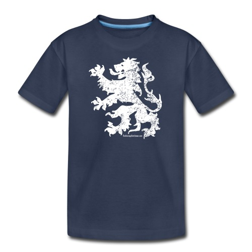 Dutch Lion (white) - Kids' Premium T-Shirt