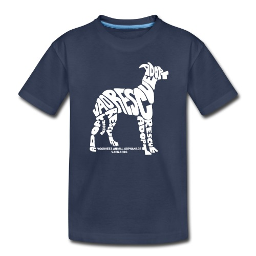 Words Dog White png - Kids' Premium T-Shirt