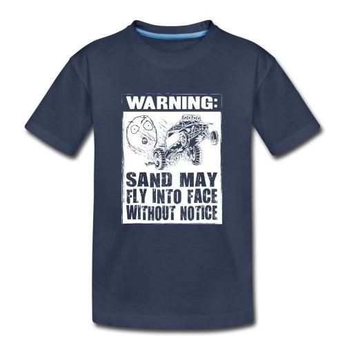 Dune Buggy Sand Warning - Kids' Premium T-Shirt