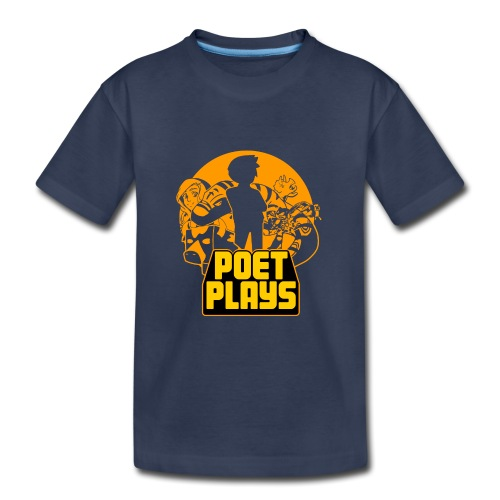 Poet Plays RETRO - Kids' Premium T-Shirt