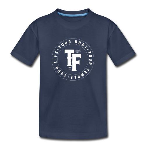 TF 2018 Logo - Circular - Kids' Premium T-Shirt