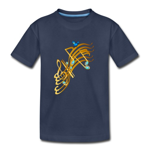 Golden Notes - Kids' Premium T-Shirt
