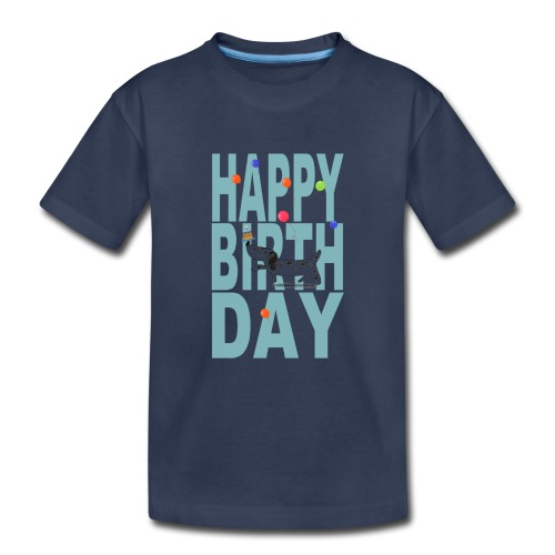 Happy Birth Day For Dogs - Kids' Premium T-Shirt