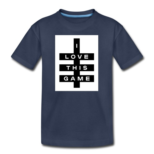 I love this game logo - Kids' Premium T-Shirt