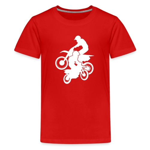 Motocross Dirt Bikes Off-road Motorcycle Racing - Kids' Premium T-Shirt