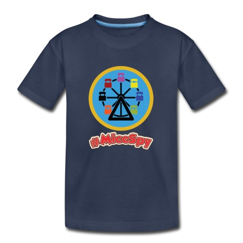 Mickeys Fun Wheel Explorer Badge - Kids' Premium T-Shirt