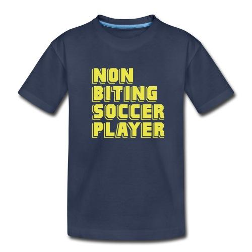Non-Biting Soccer Player - Kids' Premium T-Shirt