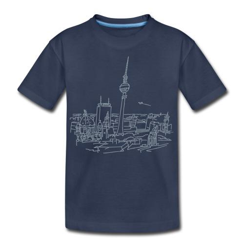 Panorama of Berlin - Kids' Premium T-Shirt