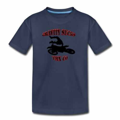 gravity sucks tmx - Kids' Premium T-Shirt