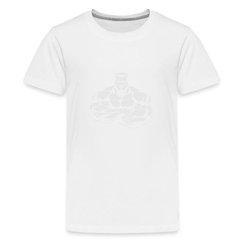 An Angry Bodybuilding Coach - Kids' Premium T-Shirt