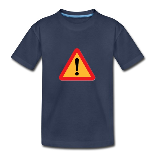 Attention - Warning sign - Kids' Premium T-Shirt