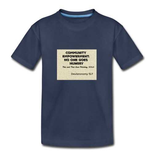 Deuteronomy 15:7 - Kids' Premium T-Shirt