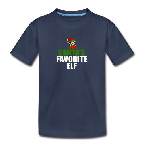 santa's favorite elf christmas t-shirt - Kids' Premium T-Shirt
