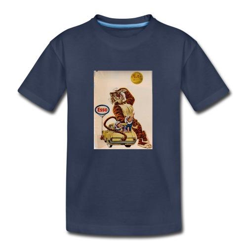 48d538beb72153486dfd2e84c5050151 stuffed tiger ol - Kids' Premium T-Shirt