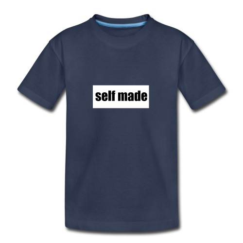 self made tee - Kids' Premium T-Shirt